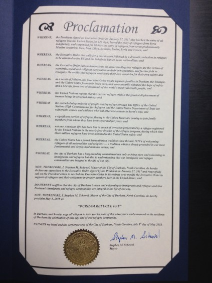 Proclamation 1